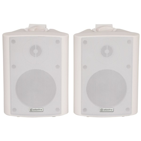 "Adastra BC3-W 3"", 80W Installation Speakers - White - Pair"