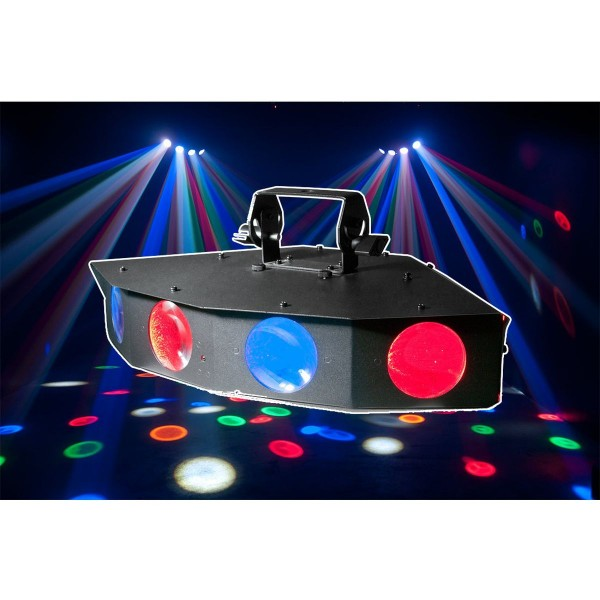 American DJ Monster Quad 25 x 1W RGBWA LED Lighting Effect