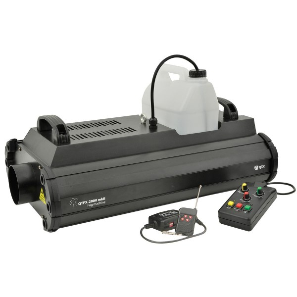 QTX QTFX-2000 MkII 2000W Professional High Powered Smoke Machine