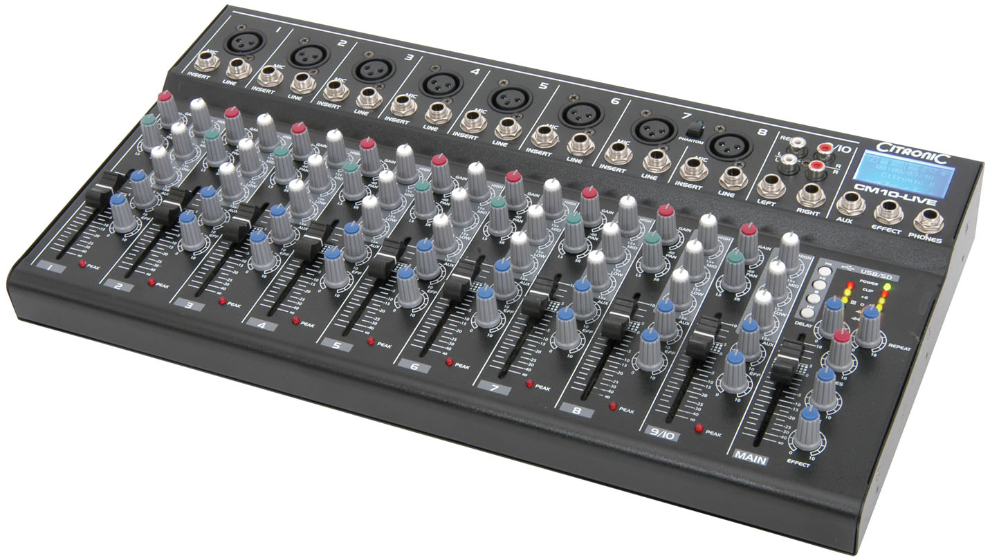 qtx 2000w 10 channel active live band pa system with usb mixer astounded. Black Bedroom Furniture Sets. Home Design Ideas