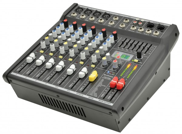 Citronic CSP-408, 8 Channel 400w Compact Powered Mixer With DSP