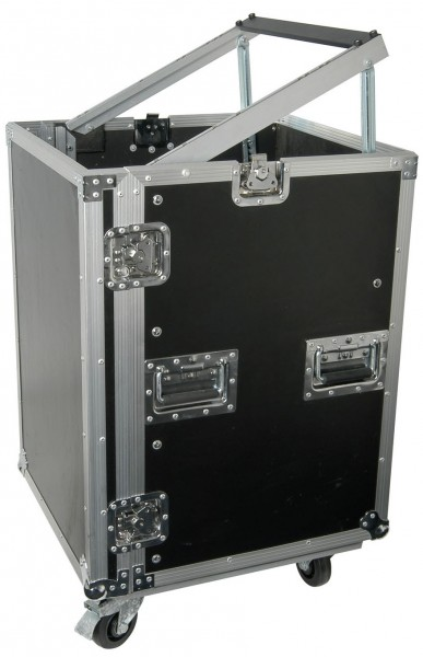 "Citronic 19"" Rack Equipment Flight Case With Wheels - 16U"
