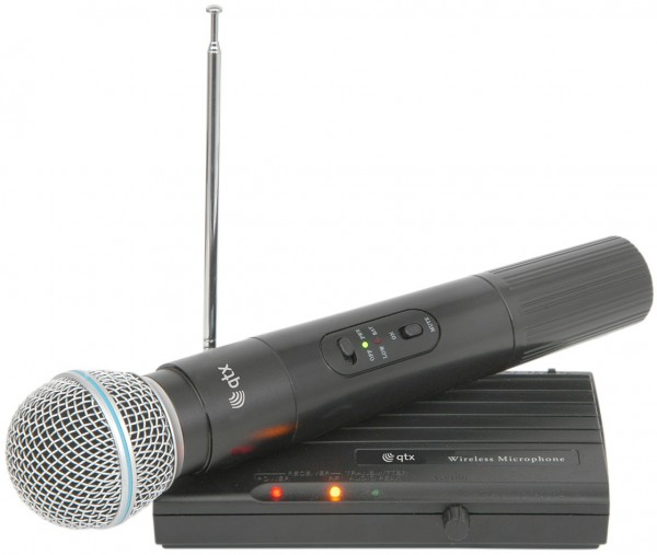 QTX VH45B Handheld Wireless Microphone System