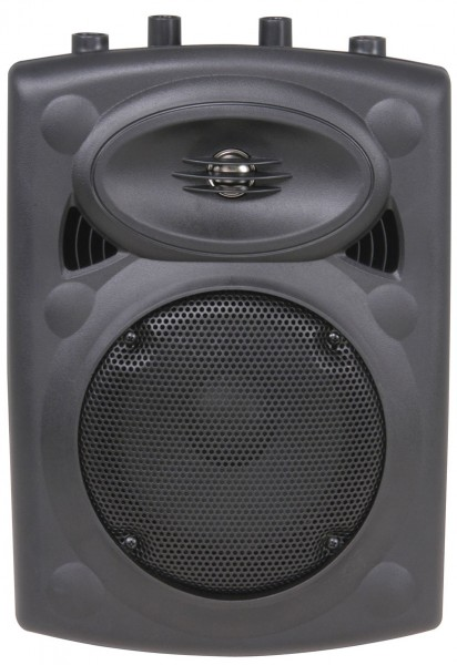 "QTX QR8 8"", 200W Lightweight ABS Passive PA Speaker - Single"