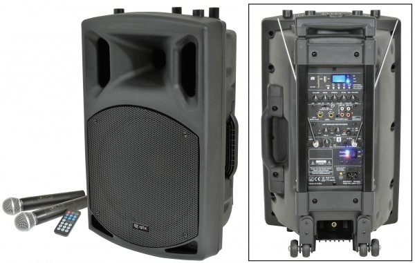 QTX QX12PA 100W Portable PA System With USB/SD/FM & Bluetooth