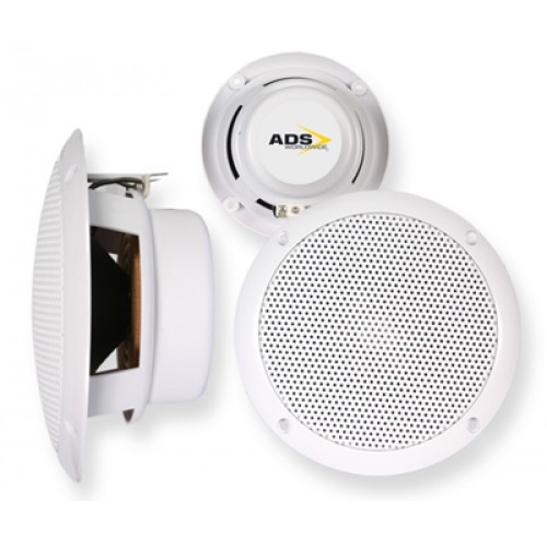 ADS Nautilus Plus 10W Water Resistant In Wall Speakers