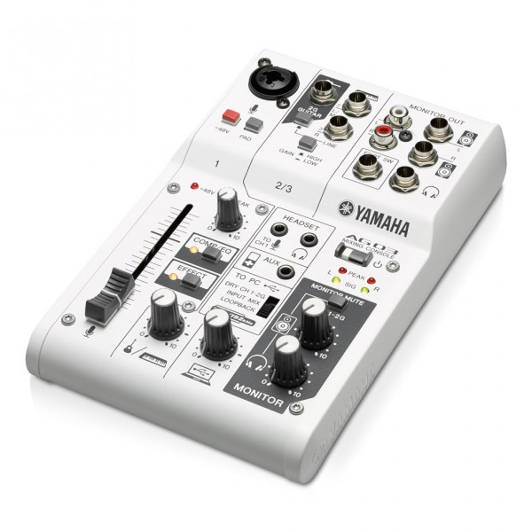 Yamaha AG03 3 Channel USB Mixer / Audio Interface