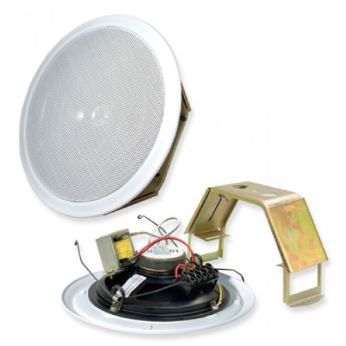ADS Omega 6 6W 100V Line Fast-Fit Ceiling Speaker - White