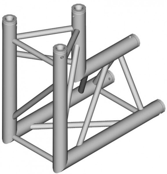 Duratruss DT 33 Tri Truss C25-D90 90° Corner Down