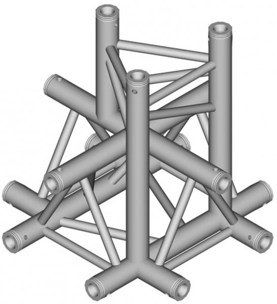 Duratruss DT 33 Tri Truss C53-XD X-joint + Down