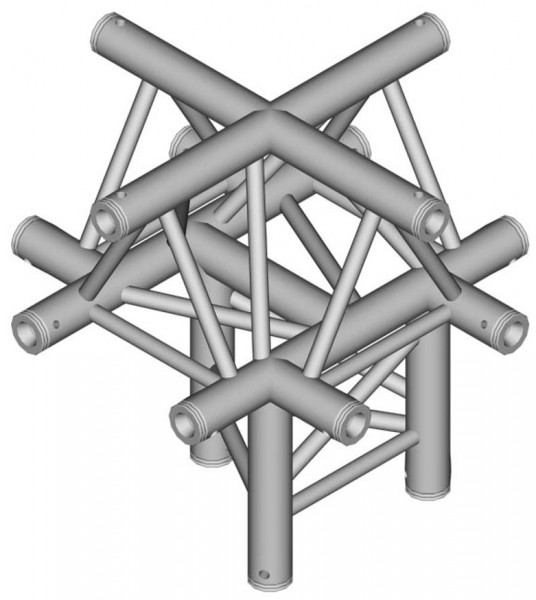 Duratruss DT 33 Tri Truss C52-XU X-joint + Up