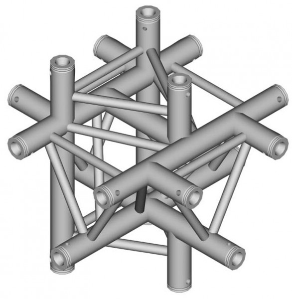 Duratruss DT 33 Tri Truss C61-XUD X-joint + Up + Down