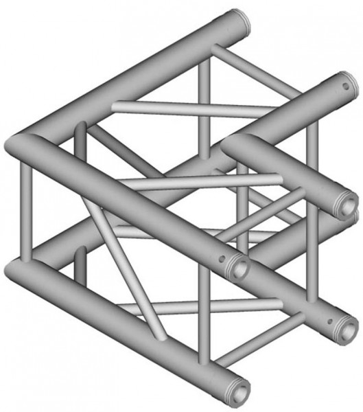 Duratruss DT 34 Quad Truss C21-L90 90 degree Corner 50cm