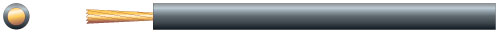1mm Induction Loop Cable - 100m - Black