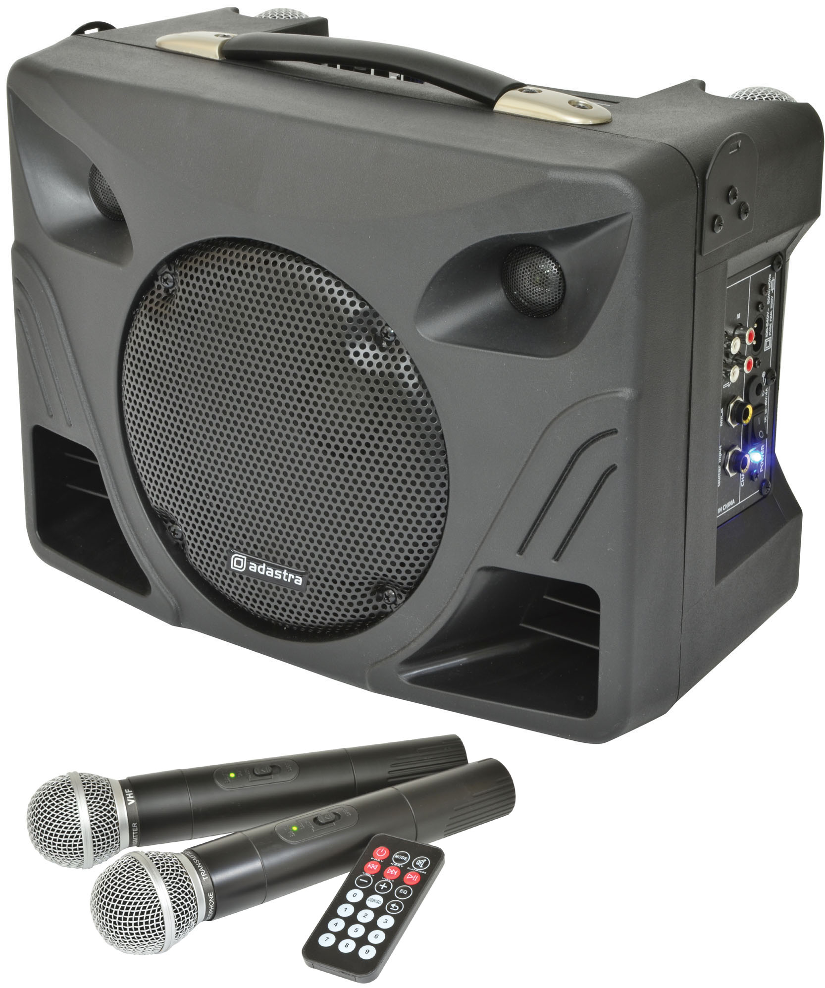 adastra dt50 50w portable pa system with 2 wireless microphones astounded. Black Bedroom Furniture Sets. Home Design Ideas