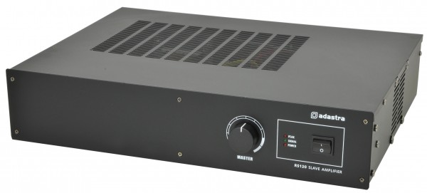 Adastra RS120 120W Public Address Slave Amplifier - 100V Line