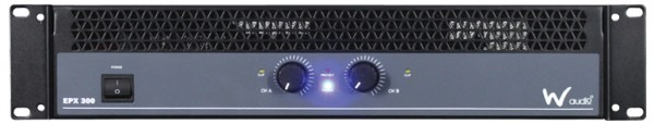 W Audio EPX 300 300W Stereo Power Amplifier