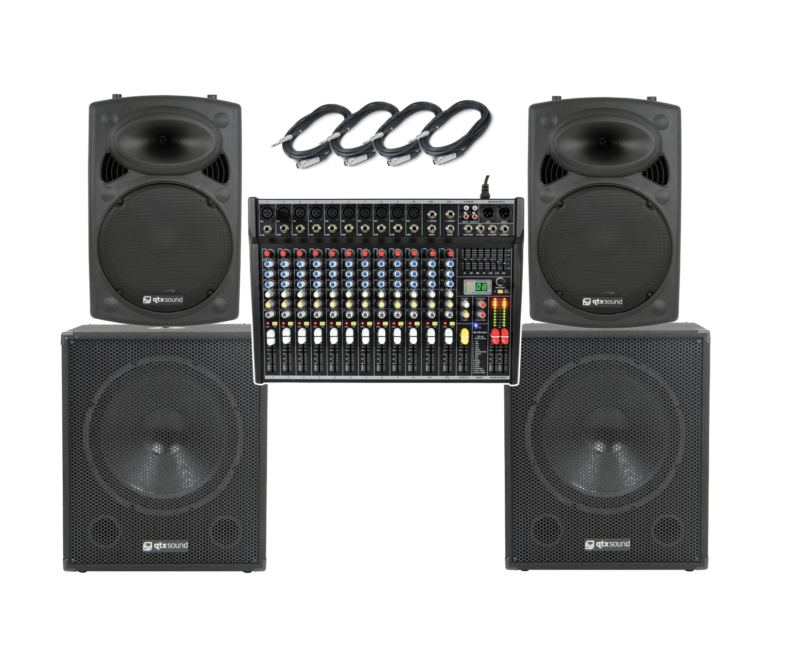 apa series bare essentials big band pa system 14 channel 2800w astounded. Black Bedroom Furniture Sets. Home Design Ideas