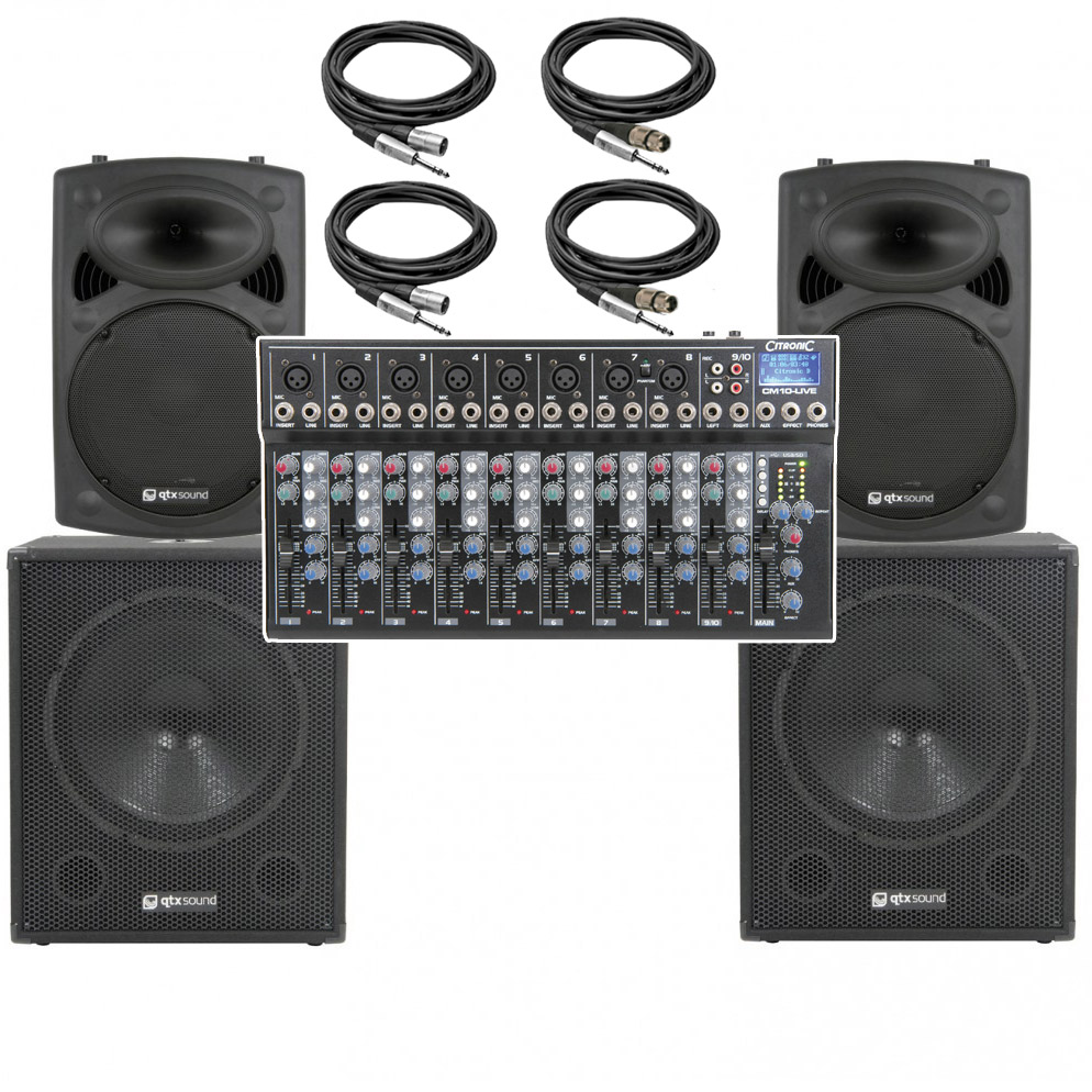 apa series bare essentials big band pa system 10 channel 2800w astounded. Black Bedroom Furniture Sets. Home Design Ideas