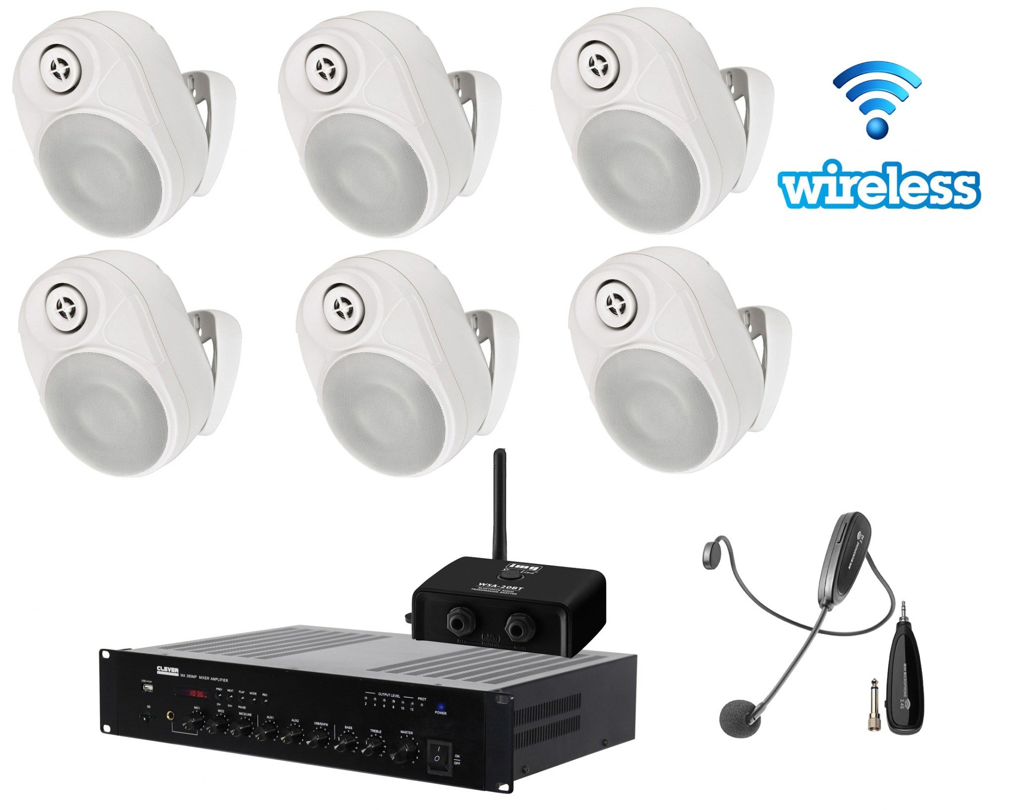 Astounded School Classroom Wireless Soundfield Pack 2