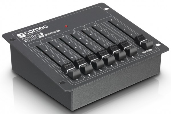 Cameo CONTROL 6 - 6-Channel DMX Lighting Controller