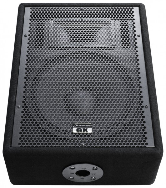 "Studiomaster GX12M - 12"", 400W Passive Wedge Stage Monitor"