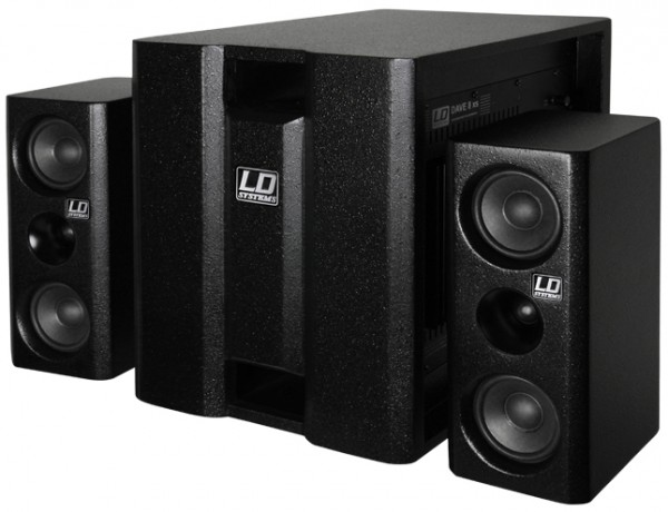 "LD Systems DAVE 8XS - Compact 8"" Powered Multimedia PA System"