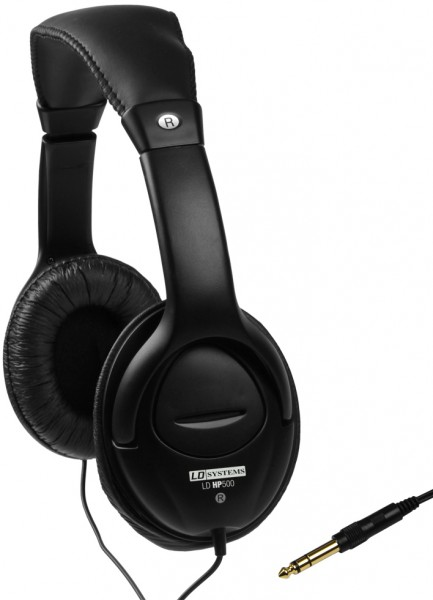 LD Systems HP500 Dynamic Stereo Headphones
