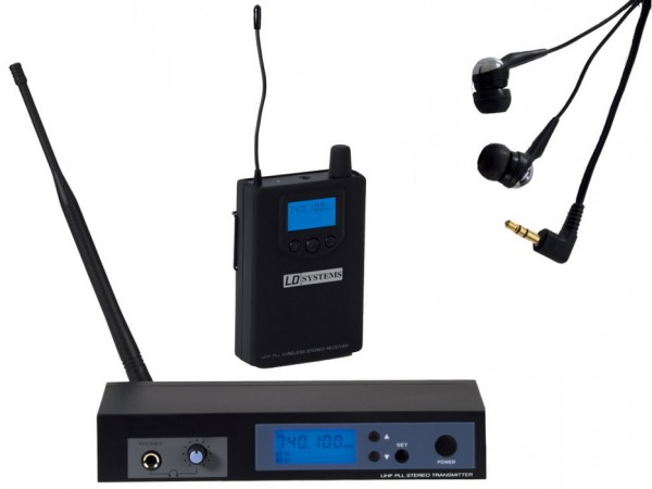 LD Systems MEI100 G2 UHF Wireless In-Ear Monitoring System