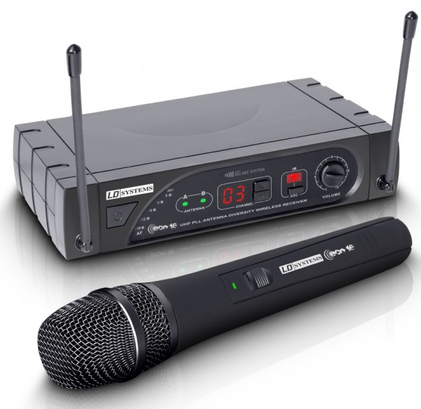 LD Systems ECO 16 Wireless Handheld UHF Microphone System