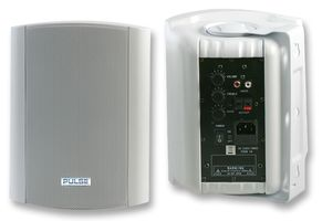 """Pulse Active-50-WH 6.5"""", 50W Powered Speakers / Monitors (Pair)"""