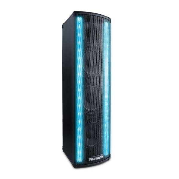 Numark Lightwave Powered Speaker With Dual LED Lights