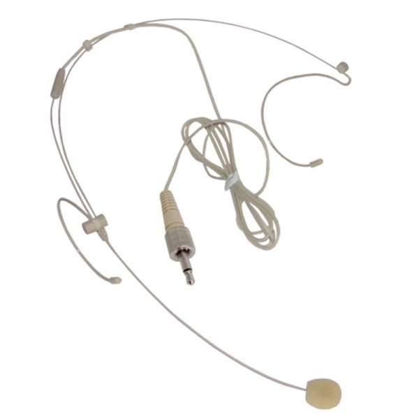 W Audio Flesh Coloured Headset Microphone