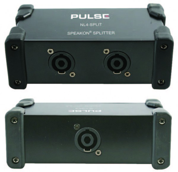 Pulse NL4-SPLIT NL4 Speakon Splitter Box
