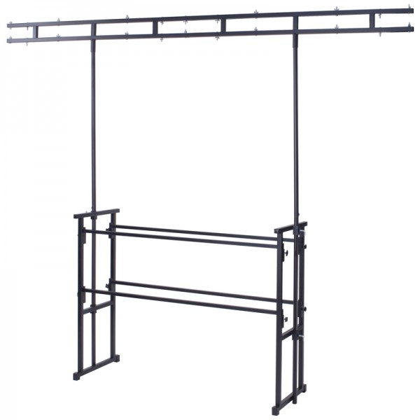 Rhino Twin Bar 4ft Pro Disco Lighting / Equipment Stand