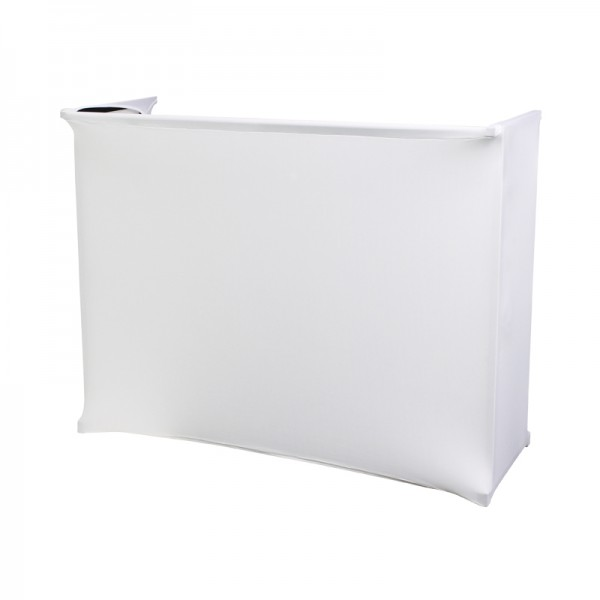 White Lycra Scrim Kit For Rhino 4' Disco Stand Or Similar