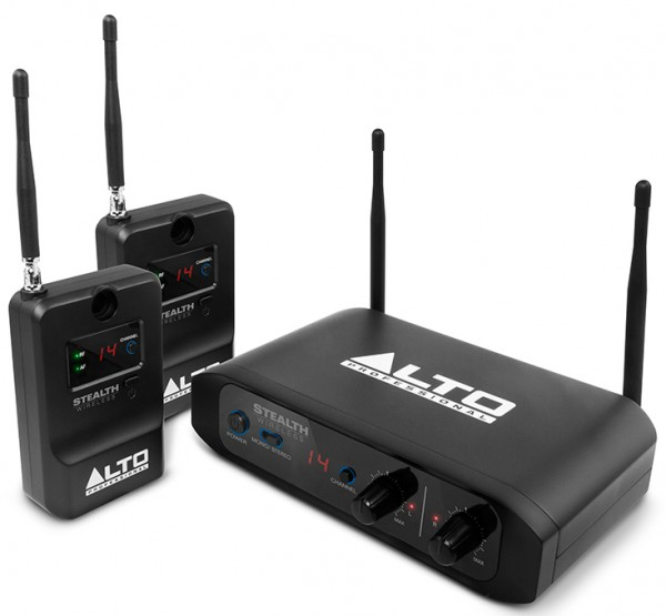Alto Stealth Wireless Stereo Wireless System for Active Loudspea