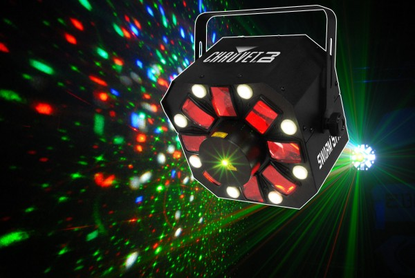 Chauvet Swarm 5 FX DMX 3-1 LED Disco Light