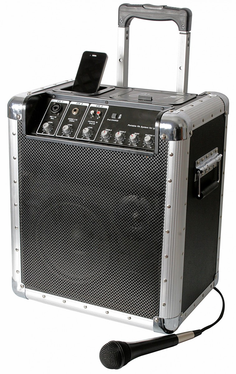 Pulse TREKKER i300 Portable PA System With iPod Dock 1