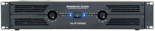 American Audio VLP2500 2200W Stereo Power Amplifier