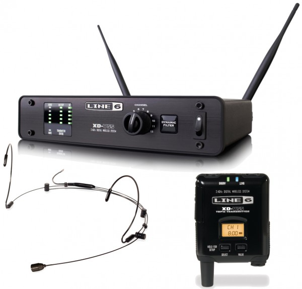 Line 6 XD-V55 Digital Wireless Headset Microphone System