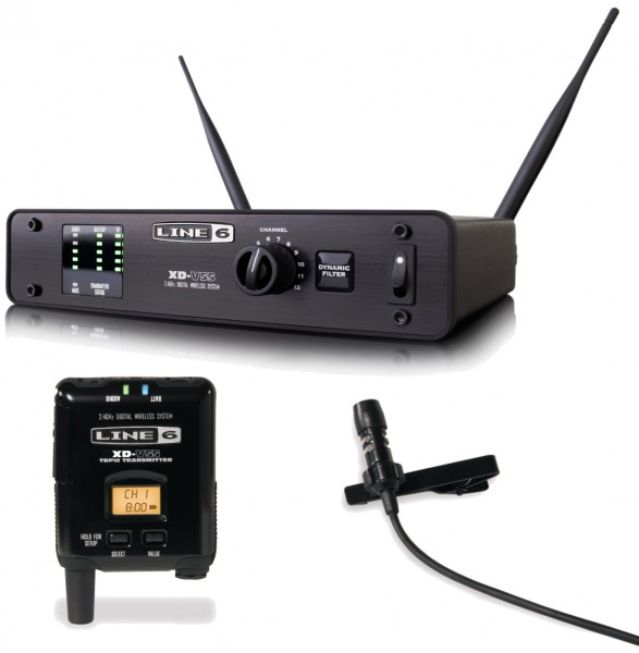 Line 6 XD-V55 Digital Wireless Lapel Microphone System