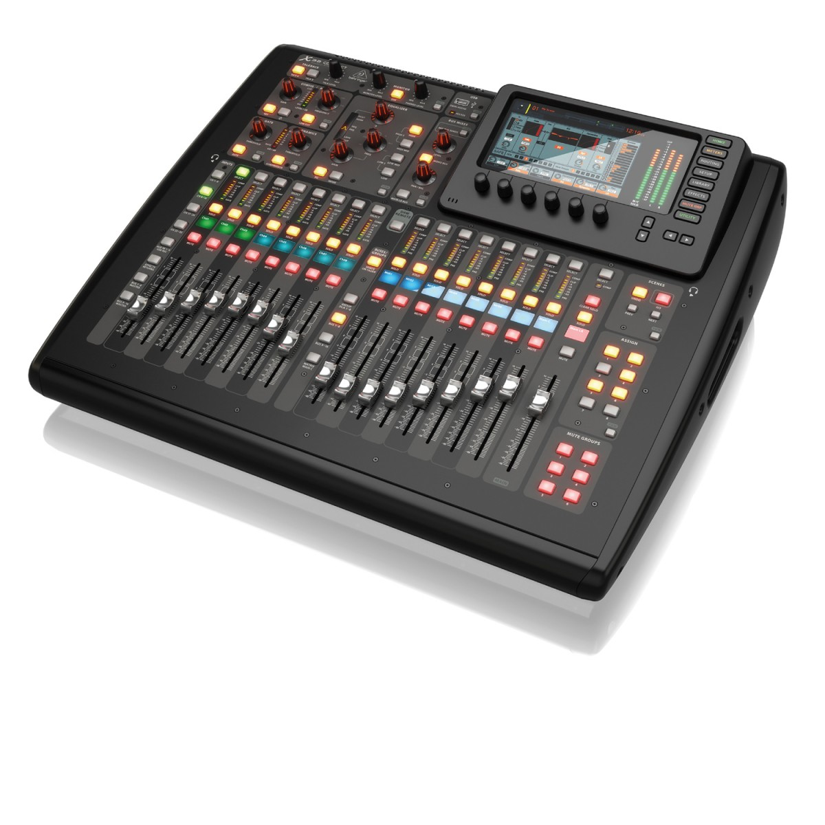 behringer x32 compact digital mixer with dsp 16 channel astounded