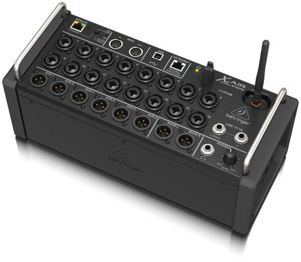 behringer x air xr18 18 channel digital mixer for ios android tablets astounded. Black Bedroom Furniture Sets. Home Design Ideas
