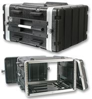 "Pro Heavy Duty ABS 19"" Rack 6U Flight Case"