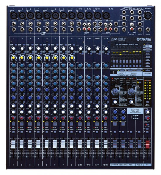 Yamaha EMX5016C 1000W Powered Mixer With Effects