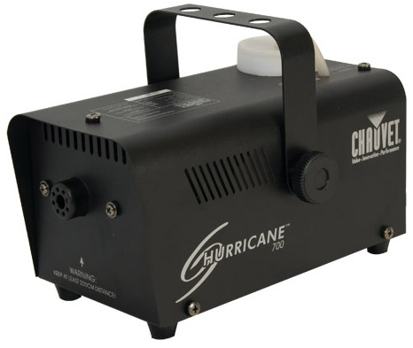 Chauvet Hurricane 700 Fogger / Smoke Machine With Free Fluid