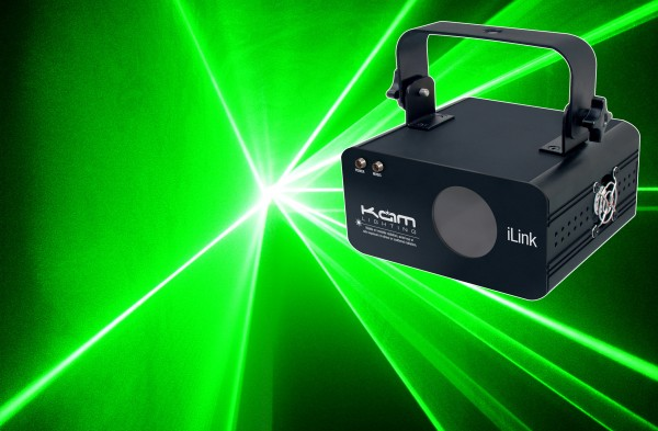 Kam iLink Green Scanning Laser With Remote Control