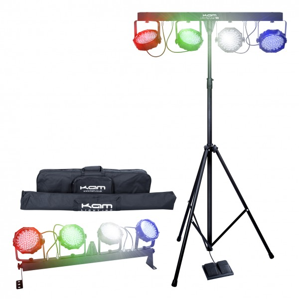 Kam LED Partybar V2 Portable LED Disco / Party Lighting System