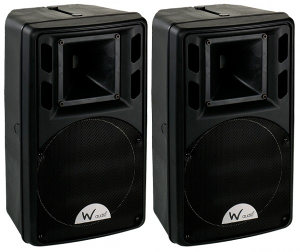 "W Audio PSR8 -  8"", 120W Passive PA Speakers (Pair)"